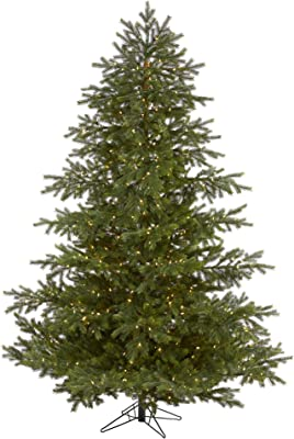 7.5ft. South Carolina Spruce Real Touch Artificial Christmas Tree with 650 (Multifunction) Warm White LED Lights with Instant Connect Technology and 1081 Bendable Branches