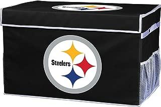 Franklin Sports NFL Team Licensed Collapsible Storage Footlocker Bins (2 Sizes)