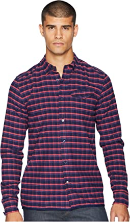 Ams Blauw Regular Fit Pure Indigo Shirt