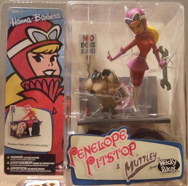 Hanna Barbera Series II Penelope Pitstop & Muttley