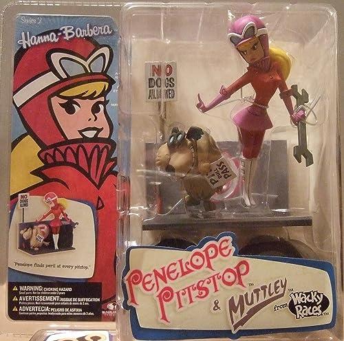 Hanna Barbera Series II Penelope Pitstop & Muttley [Import allehommed]