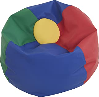 ECR4Kids Standard Bean Bag Chair, Multicolor (35