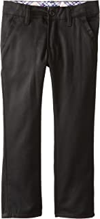 U.S. Polo Association Little Girls' Twill Skinny Pant