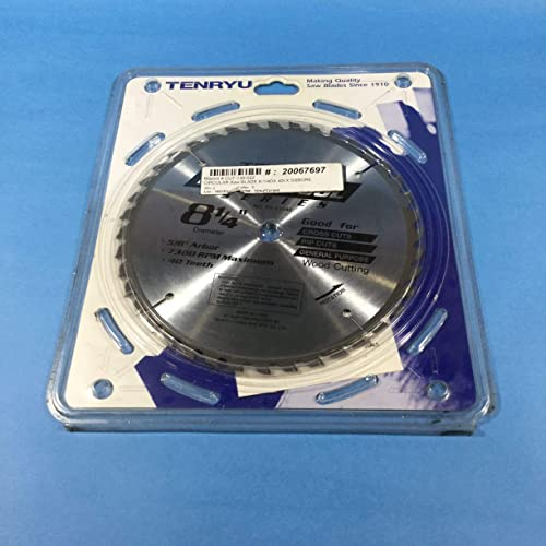 """lowest Tenryu PT-21040 8.25"""" outlet sale Carbide Tipped Saw new arrival Blade online sale"""