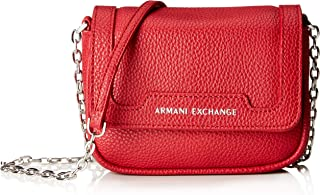 Chain Strap Small Crossbody Bag, Royal red 71