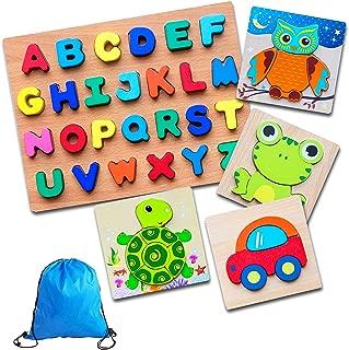 Best alphabet jigsaws wooden Reviews