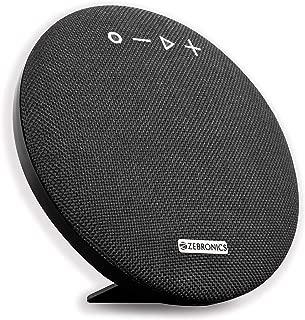 Zebronics Zeb-Maestro Portable BT Speaker with Dual Drives, mSD, USB, FM, AUX, Mic & Fabric Finish (Black)