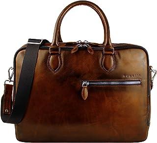 Bugatti Domus Businesstasche für Damen und Herren mit 15 Laptopfach, Arbeitstasche Aktentasche Große Bürotasche