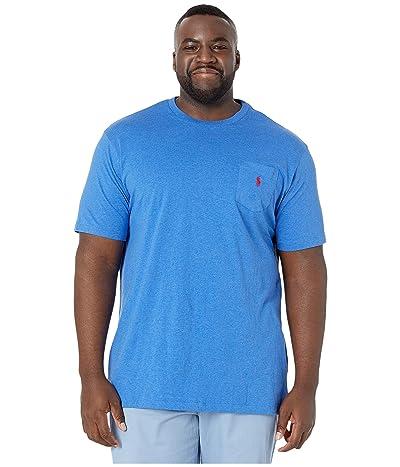 Polo Ralph Lauren Big & Tall Big Tall 26/1 Jersey Short Sleeve Classic Fit T-Shirt (Dockside Blue Heather) Men
