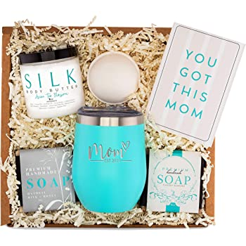 New Mom Gifts Ideas   Mom Est. 2020 Spa Gift Box   Best Present Idea for First Time Mommy w/New Baby   Cute Expecting Mother to be Baby Shower Presents for Her Pregnancy