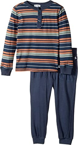 Splendid Littles - Yarn-Dyed Stripe Shirt and Pants Set (Toddler)