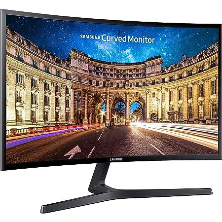 Samsung C27F396 Monitor Curvo per PC, 27'' Full HD, 1920 x 1080, 60 Hz, 4 ms, Freesync, D-sub, HDMI, Nero