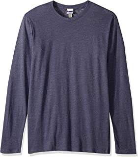 Soffe Men's CVC Long Sleeve Crew Neck Tee,