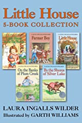 Little House 5-Book Collection: Little House in the Big Woods, Farmer Boy, Little House on the Prairie, On the Banks of Plum Creek, By the Shores of Silver Lake Kindle Edition