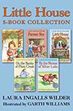 Little House 5-Book Collection: Little House in the Big Woods, Farmer Boy, Little House on the Prairie, On the Banks of Pl...
