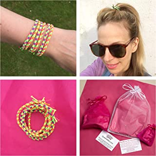 Queenmee Cheveux Tie Bracelet Lot de 6 bracelets de cheveux Bandeau Tressé  Bandeau Cheveux de cheveux