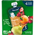 Gerber Purees Organic 2nd Foods Baby Food, Pear Peach Strawberry, 14 Oz, 4 Ct