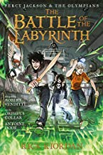 Battle of the Labyrinth: The Graphic Novel, The (Percy Jackson and the Olympians: TheGraphicNovel Book 4)