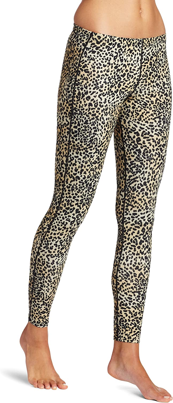 Hot Chillys Women's MTF4000 Print Tight (Cheetah Print, Large)