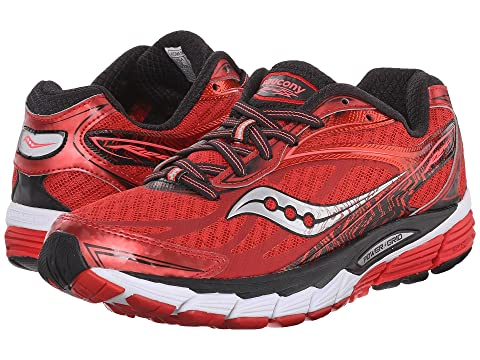 Womens Shoes Saucony Ride 8 Red/Black