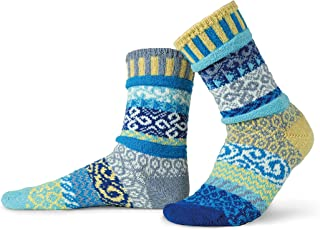 Solmate Socks - Mismatched Crew Socks for women or Men