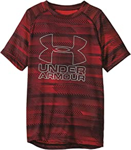Under Armour Kids - Big Logo Hybrid Printed Tee (Big Kids)
