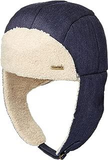 mens shearling aviator hats