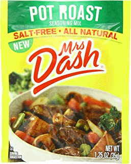 Mrs. Dash Seasoning Mix, Pot Roast, 1.25 Ounce (Pack of 12)