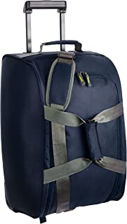Aristocrat Polyester 30 cms Blue Travel Duffle (DFTDRF55BLU)