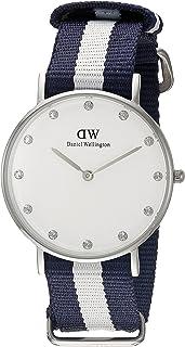 Daniel Wellington丹尼爾·惠靈頓女士0963DW Classic Glasgow模擬顯屏彩色石英表