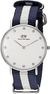 Daniel Wellington Women's 0963DW Classic Glasgow Analog Display Quartz Multi-Color Watch