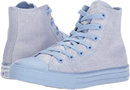 Converse Kids - Chuck Taylor All Star Mono Shine Hi (Little Kid/Big Kid)
