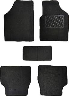 Flomaster UC Carpet Mat for Car (Set of 4, Black)
