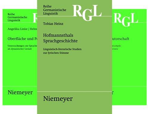 Reihe Germanistische Linguistik (Reihe in 35 Bänden)