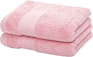 Ultra Soft Cotton Hand Towel ( Pink,2-Pack, 14