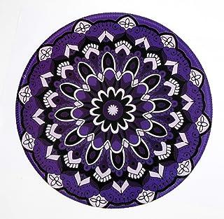Margoun Vintage Circular Rug Mousepad with Traditional Design