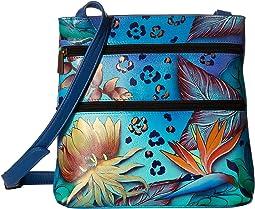Anuschka Handbags - 447 Compact Crossbody Travel Organizer