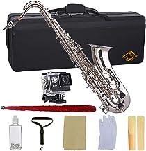 Kaizer Tenor Saxophone B Flat Bb Nickel Silver TSAX-1000NK
