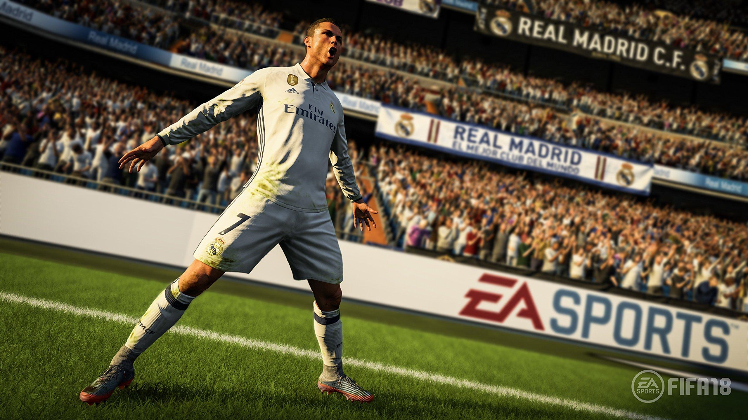 FIFA 18 Ronaldo Pre-Order Edition - Xbox One [Importación inglesa]: Amazon.es: Videojuegos