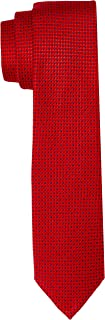 Van Heusen Men's Print Tie, Red