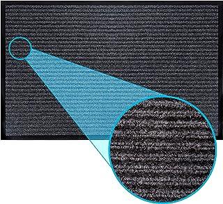 Best LuxUrux Durable Rubber Door Mat, Heavy Duty Doormat, Indoor Outdoor, Easy Clean, Waterproof, Low-Profile Mats for Entry, Patio, Garage, High Traffic Entrance Ways (17