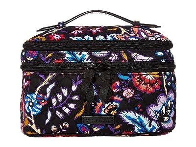 Vera Bradley Iconic Brush Up Cosmetic Case (Foxwood) Wallet