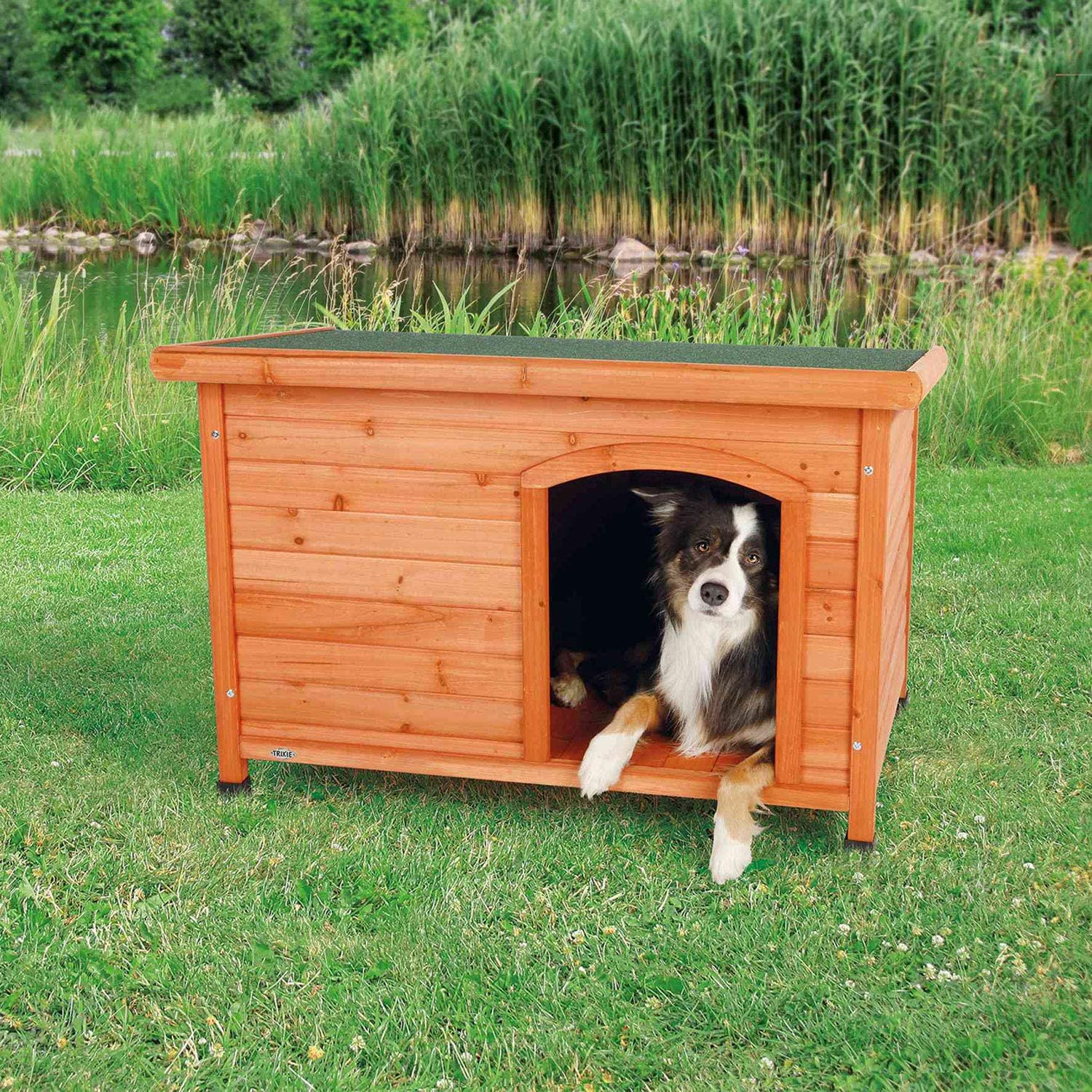 TRIXIE Classic Outdoor Wooden Dog 2021 Wood Solid Kennel House Choice