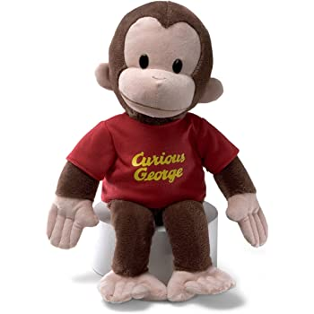 CURIOUS GEORGE PLUSH 16IN RED