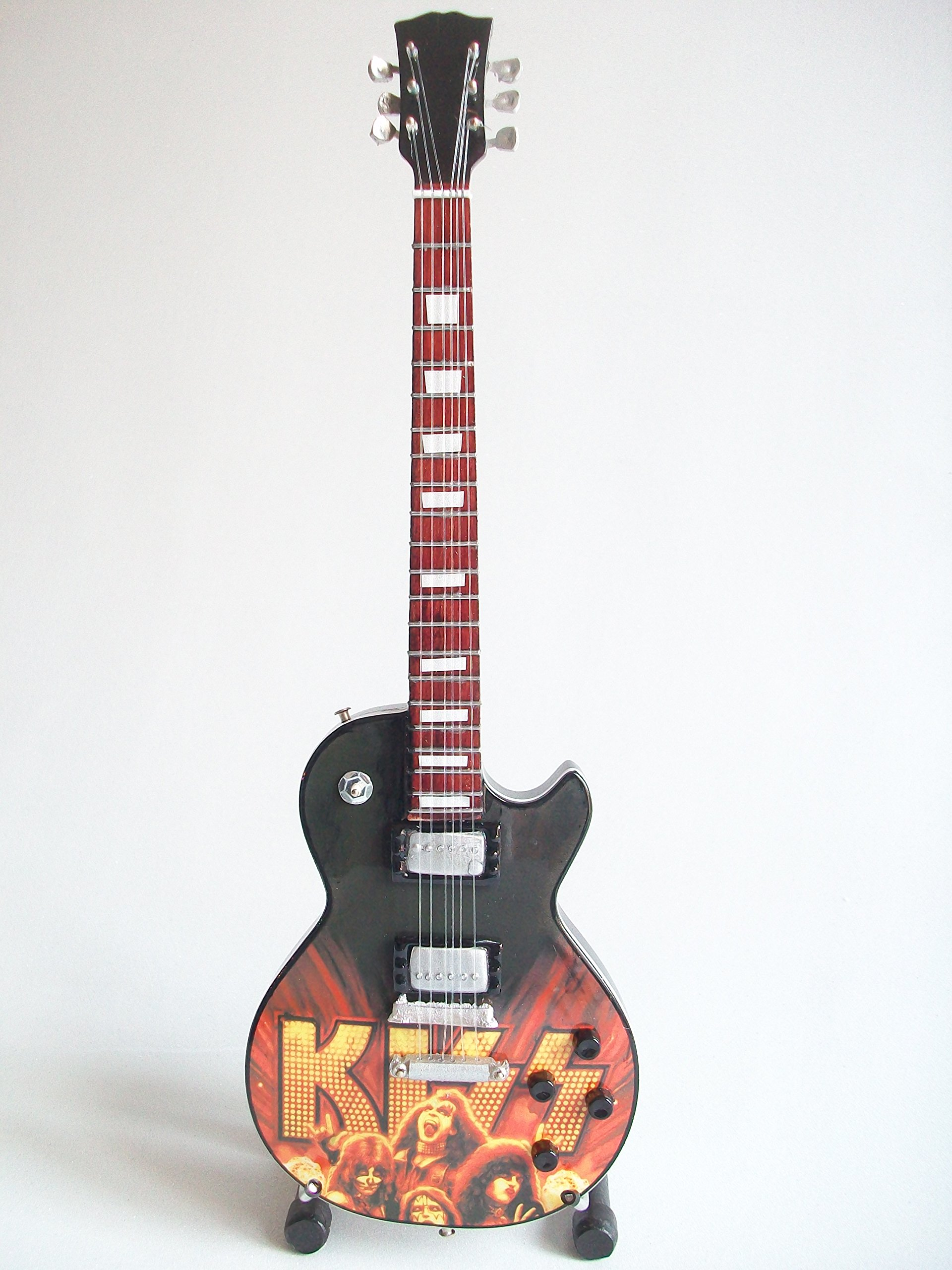 Mini guitarra de colección - Replica mini guitar - Kiss - Tribute ...