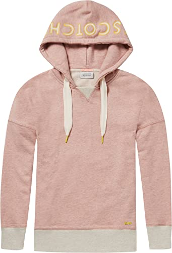 Scotch & Soda OverTailled Hoody with Various Artworks Sweat-Shirt à Capuche Femme