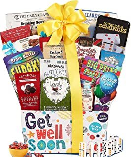 Wine Country Gift Baskets Get Well Soon Care Package Gift Basket A Positive Thoughtful Inspirational Gift Idea Great for After Surgery
