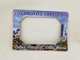 Souvenir Picture Frame Magnets for Your Refrigerator, Fridge (Los Angeles California)