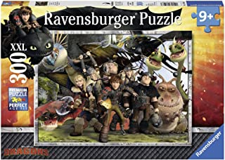 Ravensburger How to Train Your Dragon: Faithful Friends Jigsaw Puzzle (300 Piece)