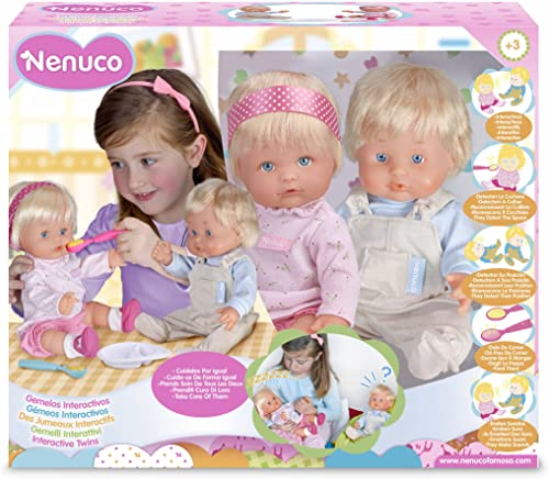productos creativos Famosa Nenuco 700007782 700007782 700007782 - Gemelos interactivos  barato
